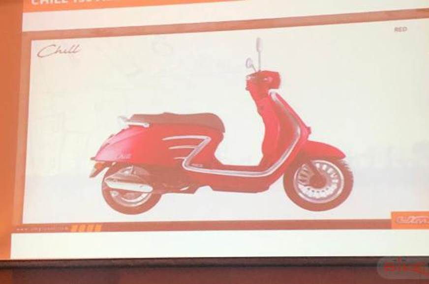 UM Chill 150 ABS to be brand's first scooter in India