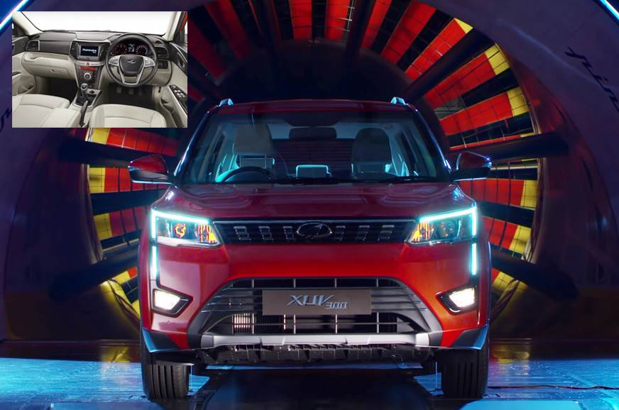 Production-spec Mahindra XUV300 interior: A closer look