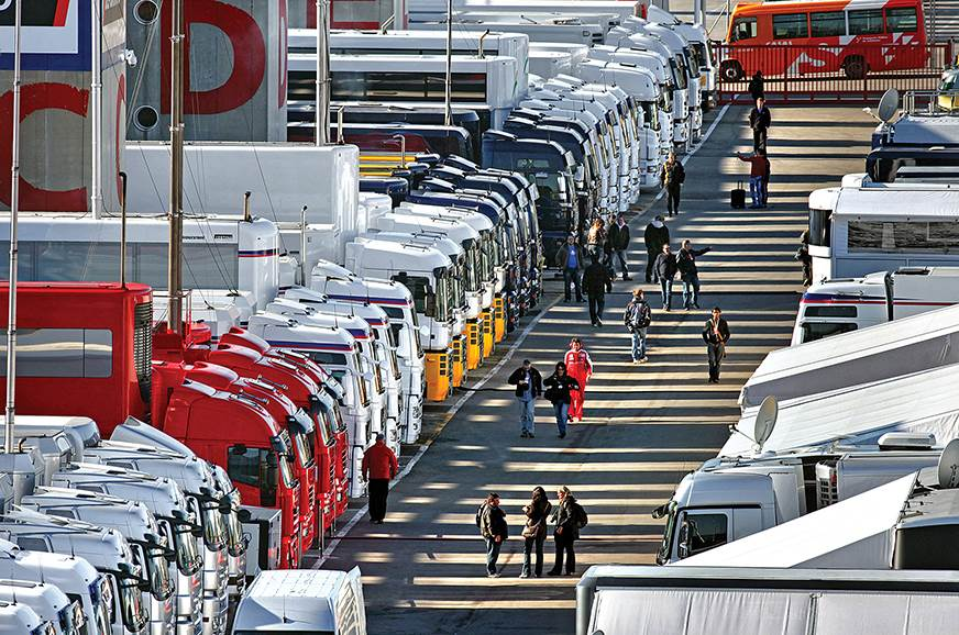 Special feature: Around the world in a cargo container - Renault & Formula One