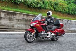2018 Honda Gold Wing review, test ride