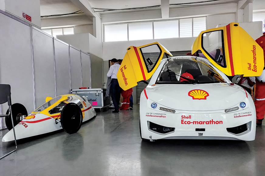 Urban Concept and Prototype cars showcased at the Shell E...