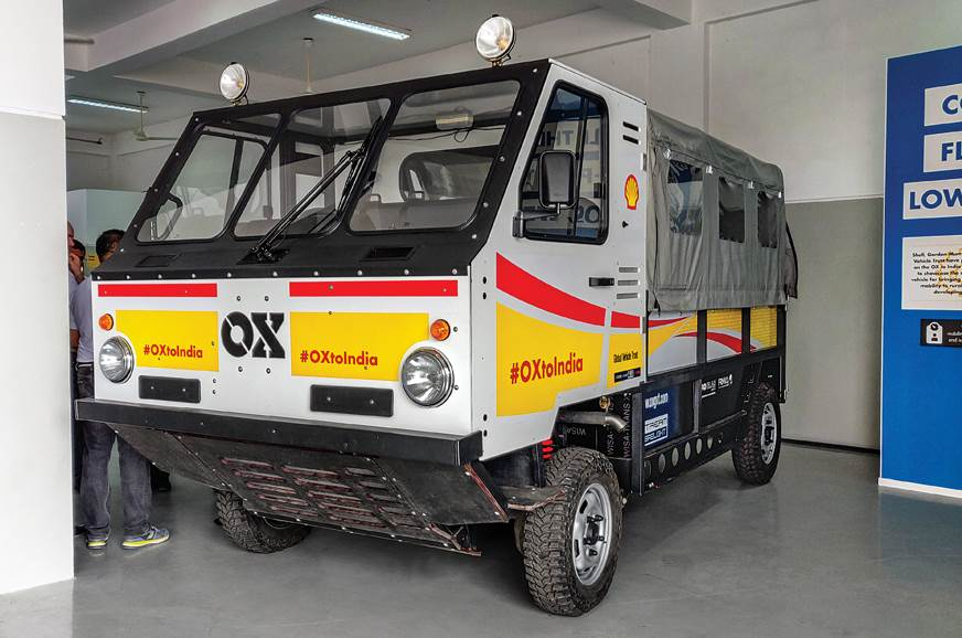 The world's first 'flat-pack' truck - The OX.
