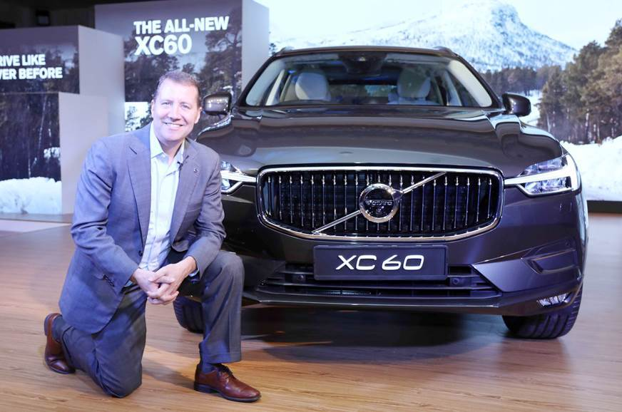 Volvo sales jump by 30 percent in 2018