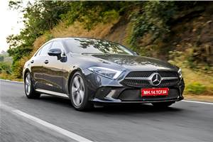 Mercedes-Benz CLS 300d review, test drive