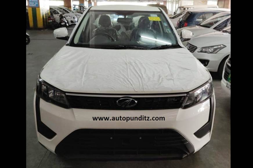 Mahindra XUV300 low-spec trim spotted