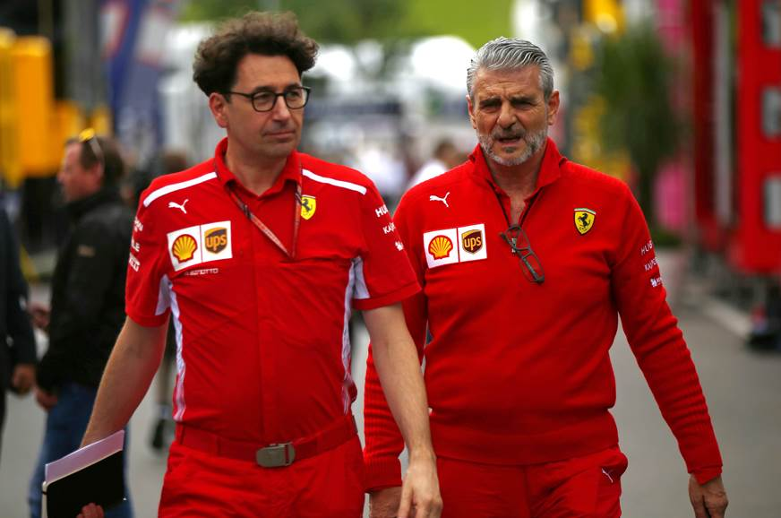 Binotto replaces Arrivabene as Ferrari F1 team principal