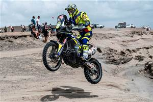 Dakar 2019, Stage 3: Three TVS riders in the top 20