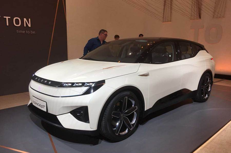 Near-production Byton M-Byte electric SUV showcased at CES 2019