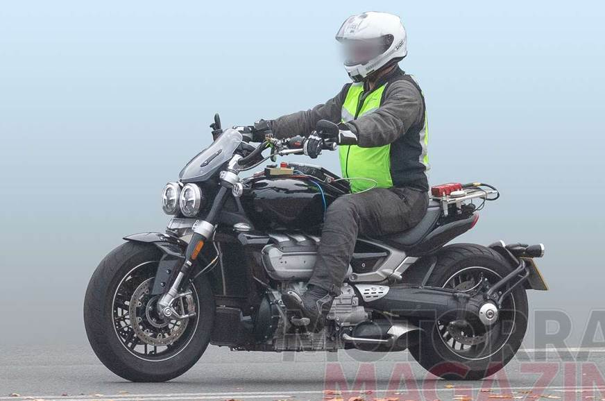 All-new Triumph Rocket III spotted without camouflage