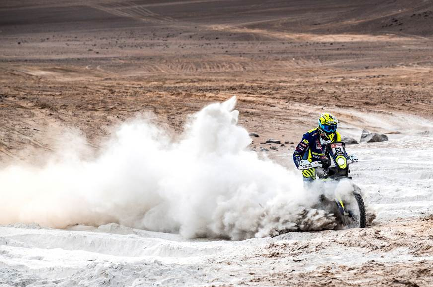 Dakar 2019, Stage 4: Santolino bags top 10 finish for TVS