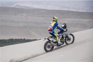 Dakar 2019, Stage 6: Santolino crashes out