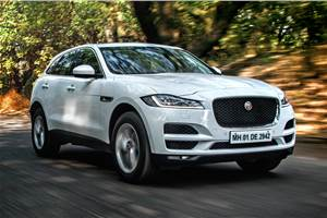 Jaguar F-Pace 25t petrol review, test drive