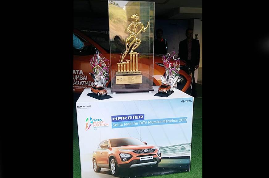 Tata Harrier named official lead car at Mumbai Marathon 2019