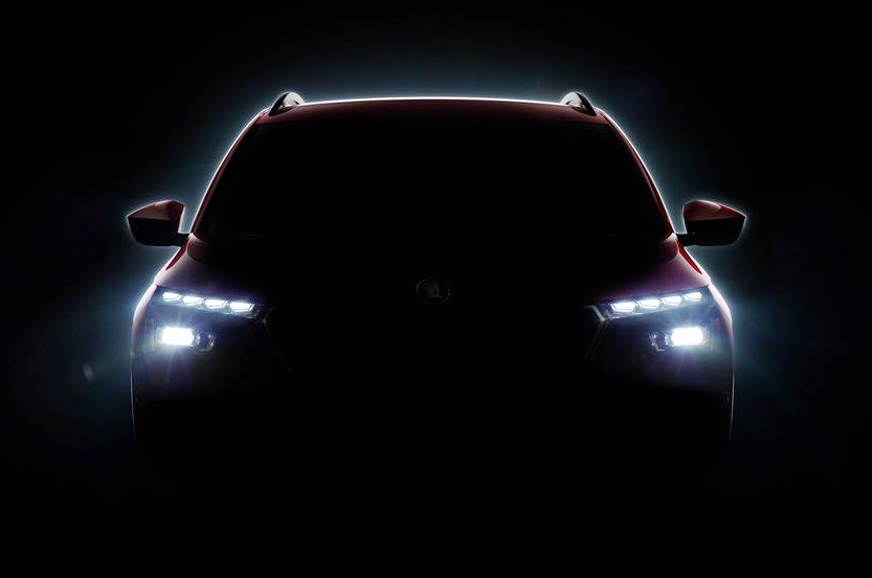 Skoda Vision X-based SUV teased ahead of Geneva reveal