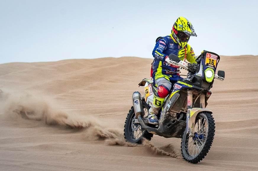 Dakar 2019: Michael Metge completes Stage 8 in top 10