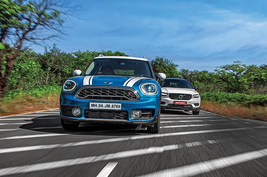 Mini Countryman vs Volvo XC40 comparison