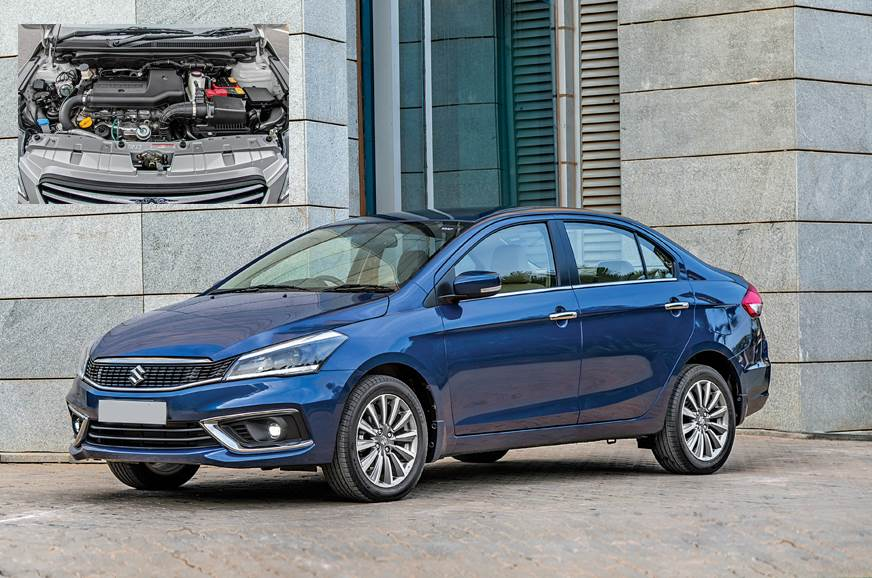 The Maruti Suzuki Ciaz facelift launched with the Fiat-sourced 1.3 diesel (inset), which will now be replaced.