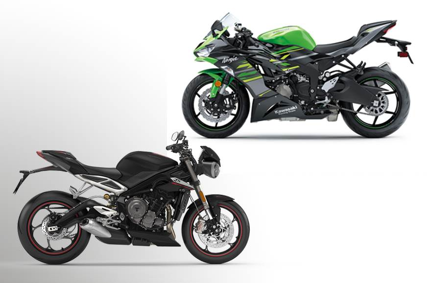 Kawasaki Ninja ZX-6R vs Triumph Street Triple RS: Specifications comparison