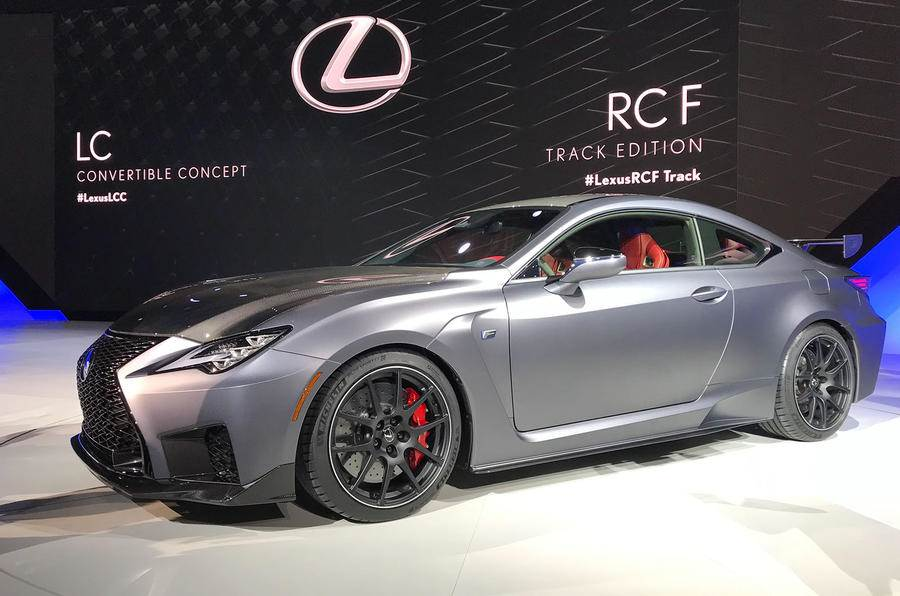 Lexus RC F, RC F Track Edition revealed at Detroit