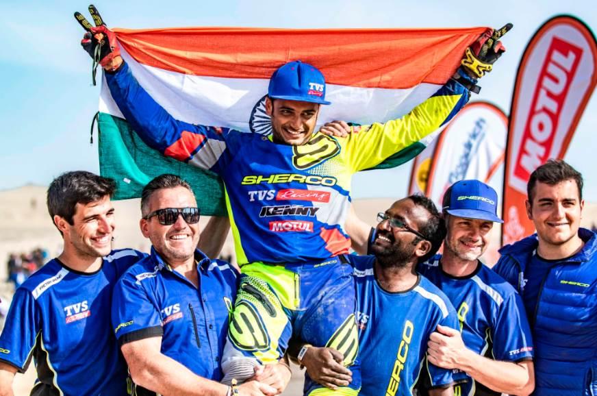 Dakar 2019: Third time's the charm for Aravind KP