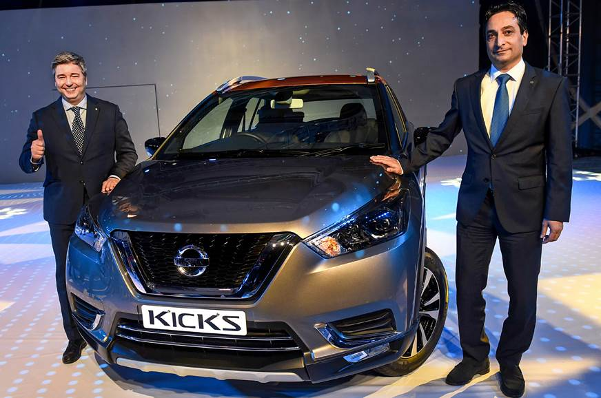 Nissan Kicks launched at Rs 9.55 lakh