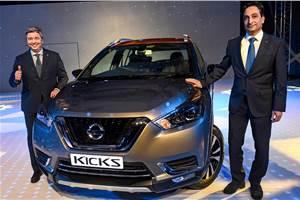 Nissan Kicks launched at Rs 9.55 lakh