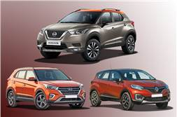 2019 Nissan Kicks vs rivals: Price, specifications comparison