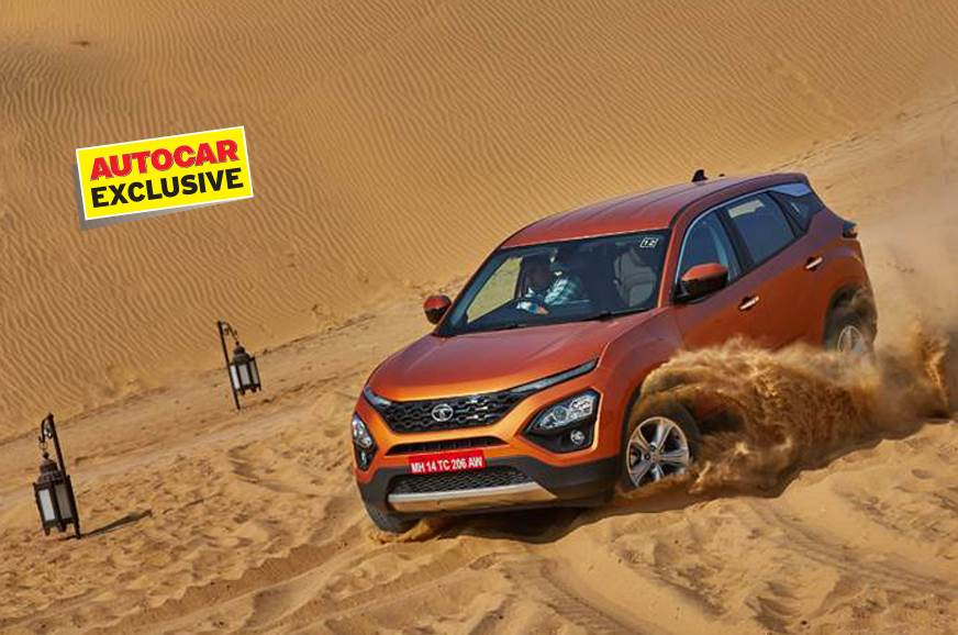 Tata Harrier official fuel efficiency figure revealed