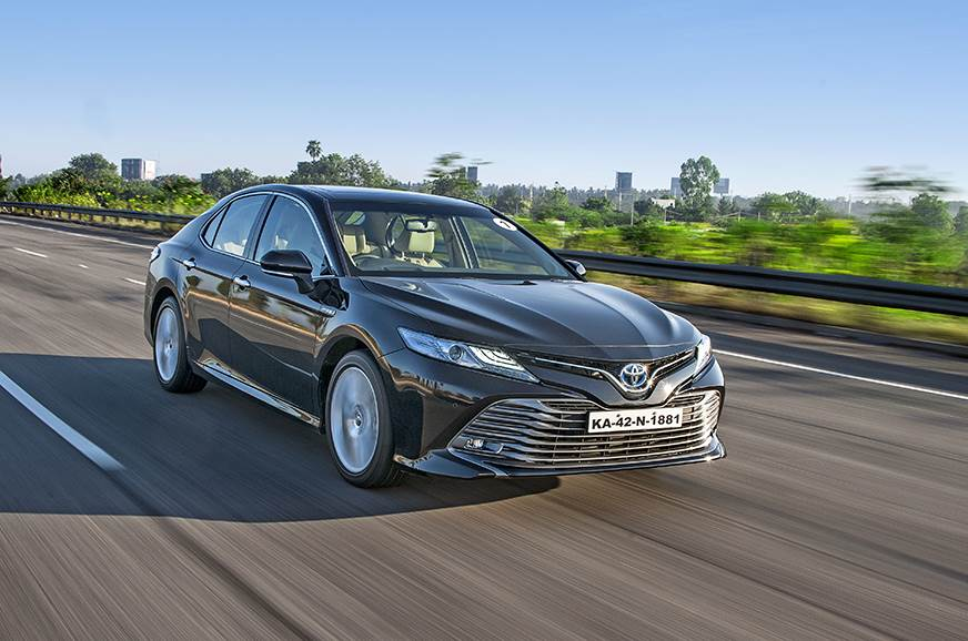 2019 Toyota Camry Hybrid India review, test drive