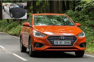 Hyundai Verna facelift takes shape