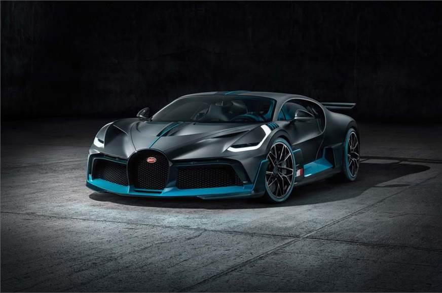 The Bugatti Divo used for representation only.