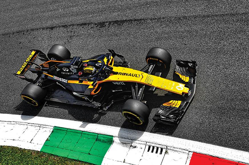 Renault's strategy simulation computers generate 90,000 r...