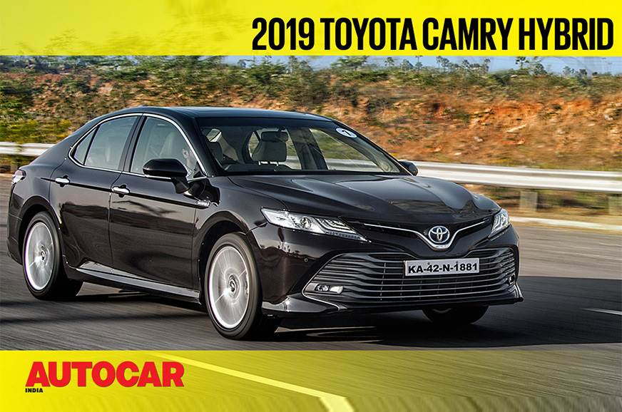 2019 Toyota Camry Hybrid video review
