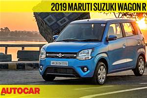New 2019 Maruti Suzuki Wagon R video review