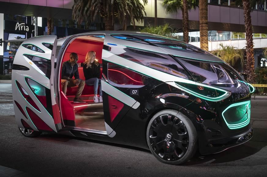 Mercedes-Benz EQV all-electric MPV concept due at Geneva