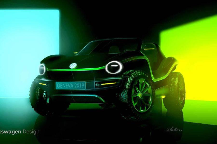 Volkswagen reveals ID electric dune buggy