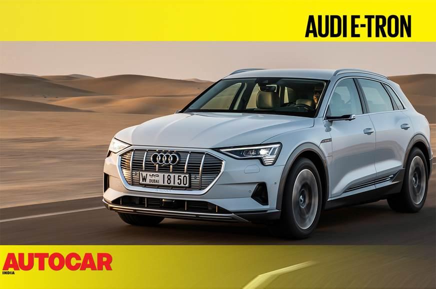 Audi e-tron SUV video review