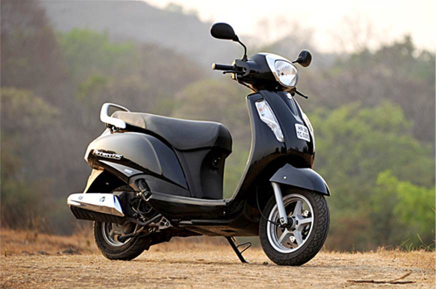 Suzuki Access 125 drum brake CBS launched at Rs 56,667