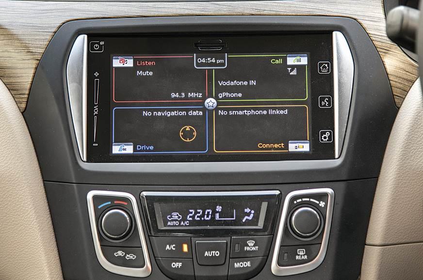 Touchscreen: Clunky, sluggish and prone to crashing; again.