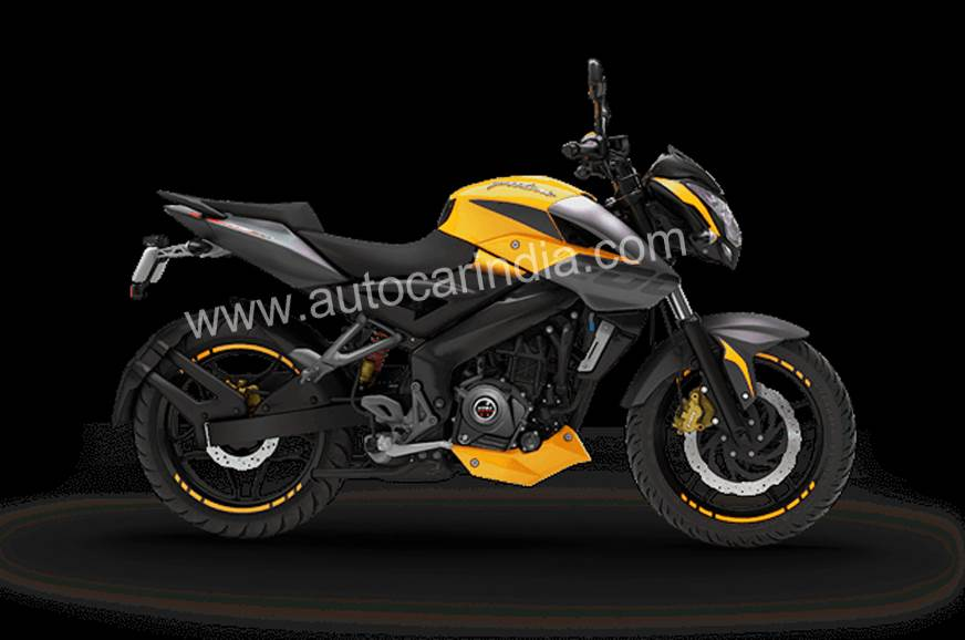 Bajaj Pulsar NS200 ABS Yellow launched