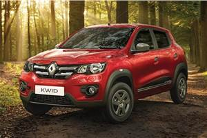 Renault Kwid gets ABS, more features; priced from Rs 2.66 lakh