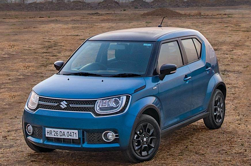 The current Maruti Suzuki Ignis used for representation only.