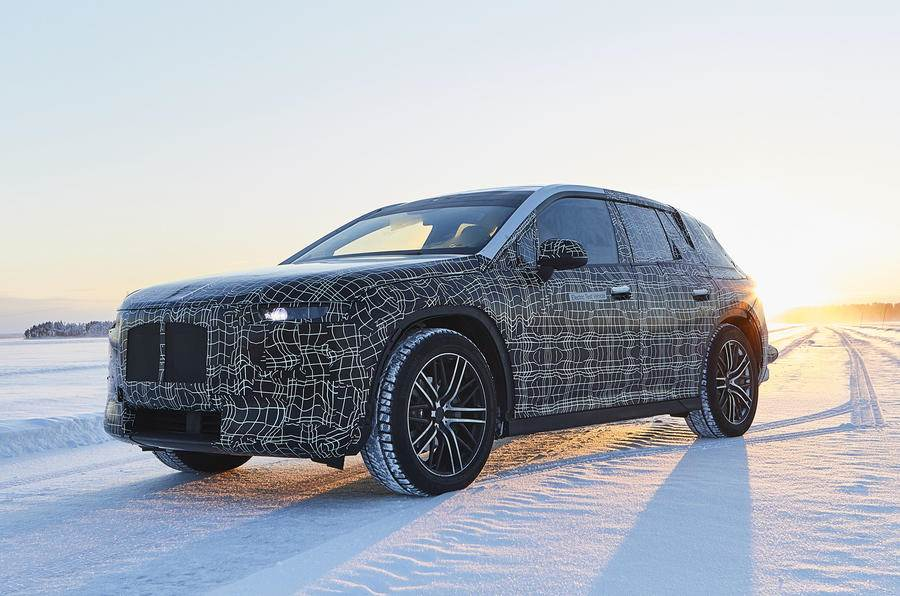 BMW iNext electric SUV begins testing