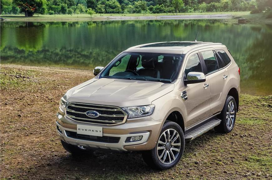 Ford Everest SUV.