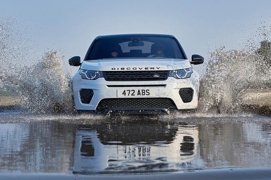 The recently launched Discovery Sport Landmark Edition used for representation only.
