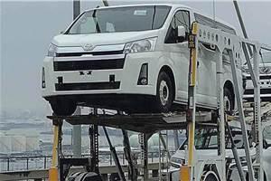 Next-gen Toyota Hiace leaked online