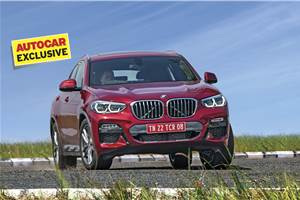 2019 BMW X4 India review, test drive