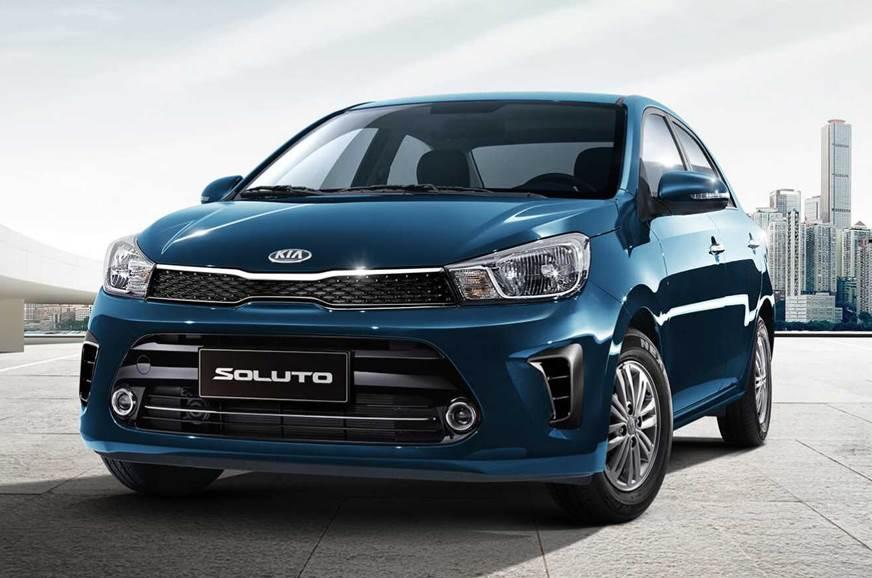 Kia Soluto sedan revealed
