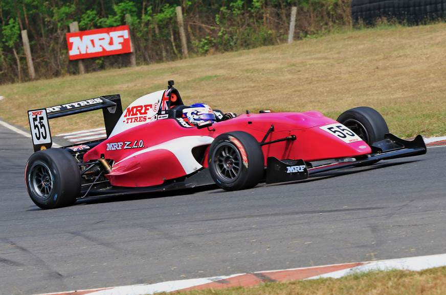 Chadwick becomes first woman racer to win MRF Challenge