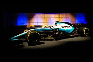 Williams reveals new F1 2019 livery and title sponsor
